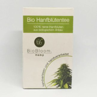 Hanfbluetentee Bio Filterbeutel