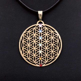 Amulett BdL Chakra gold